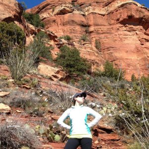Red Rock Country in Arizona. Feeling triumphant.